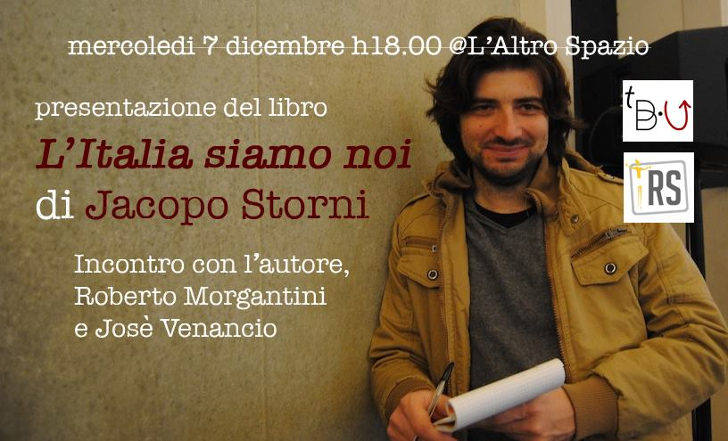 jacopo storni sorridente, con block notes e penna in mano