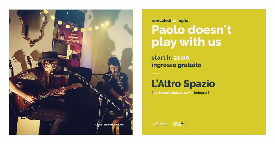 paolo doesn't play with us in concerto a bologna
