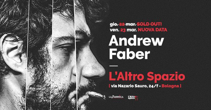 andrew faber, due date a bologna