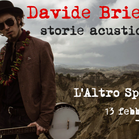 davide brienza in concerto a bologna